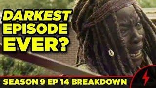 WALKING DEAD 9x14 Breakdown! Darkest Episode? SCARS EXPLAINED!