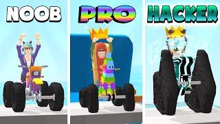 NOOB vs PRO vs HACKER – Scribble Rider (iOS)
