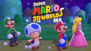 Super Mario 3D World - Full Game Walkthrough