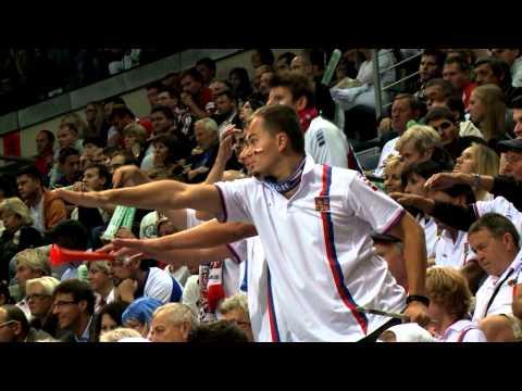 Official Davis Cup by BNP Paribas - Czech Republic v Argentina crowd