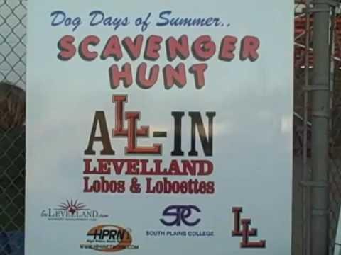 Dog Days of Summer City Wide Scavenger Hunt
