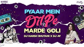 PYAR MEIN DIL PE   DJ HARSH BHUTANI & DJ AY REMIX   Sunix Thakor Visuals