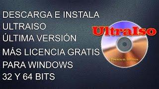 DESCARGAR ULTRAISO 9.5 FULL EN ESPAÑOL + LICENCIA GRATIS 2014 WINDOWS 7