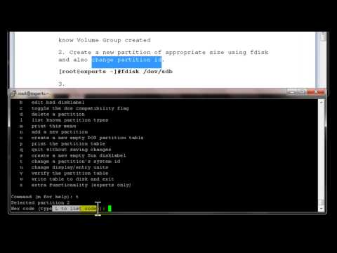 How to increase partition  in linux using LVM