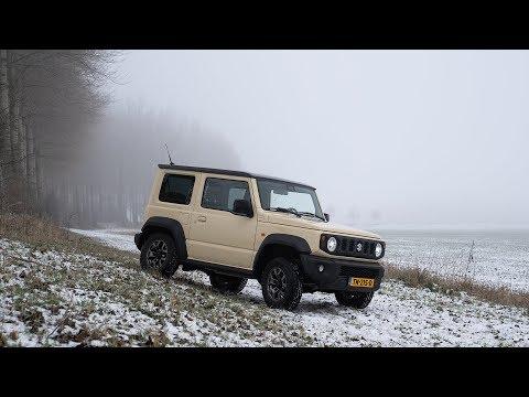 Stap in en ga het avontuur aan, dit is de nieuwe Suzuki Jimny
