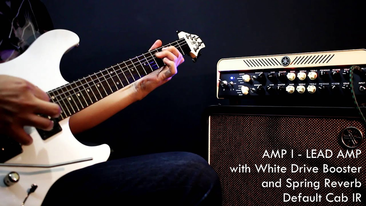 yamaha thr100hd lead and modern amps direct recording demo youtube