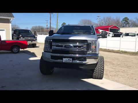 Lifted 2019 Ford F-250 Superduty. BDS lift. 22x14 Fuel Wheels.
