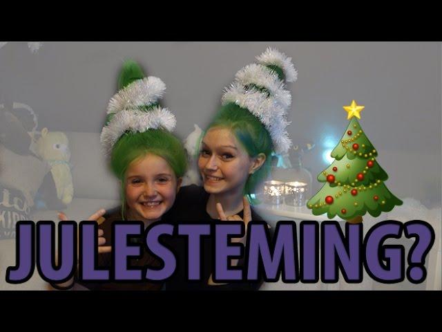 8 Desember kom i julestemning // DiY Juletrehår ?!