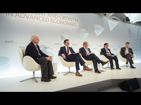 ECB Forum on Central Banking - Session 2: Business cycles, growth and macroeconomic policy