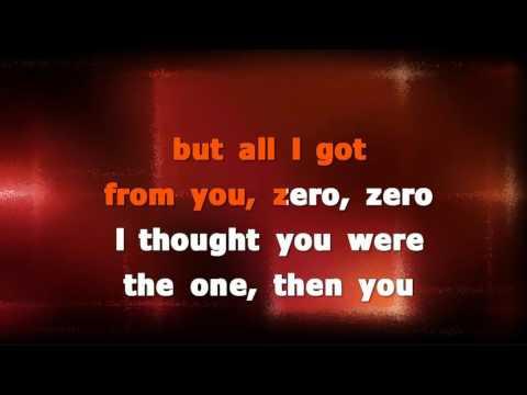 Chris Brown   Zero Karaoke