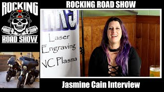 Jasmine Cain Interview with The Rocking Road Show