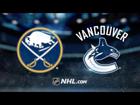 Lehner, Sabres blank Canucks, 4-0