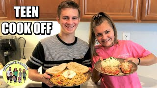 TEEN MASTER CHEF COOK WITH ME | KIDS LEARN HOW TO COOK EASY DINNER RECIPE | PARENTS REACT TASTE TEST