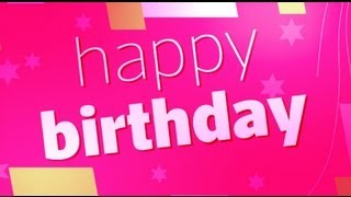 Illustrator - Create happy birthday greeting card