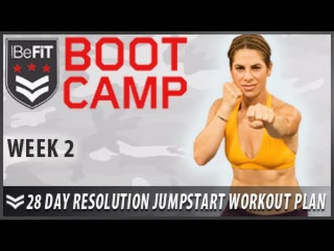 28 Day Resolution Jumpstart Workout Plan: Week 2- BeFiT Bootcamp - YouTube