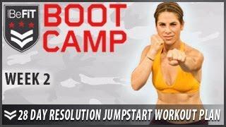 28 Day Resolution Jumpstart Workout Plan: Week 2- BeFiT Bootcamp