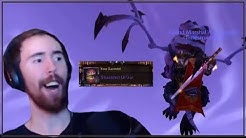 Asmongold Equips the Chromatic Sword and Then Learns the Shackled Ur'zel Mount