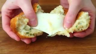Картофельные биточки с моцареллой