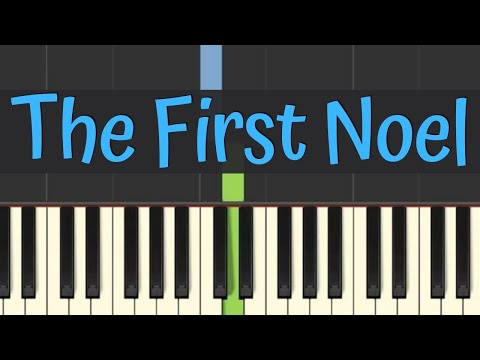 Easy Piano Tutorial: The First Noel with free sheet music