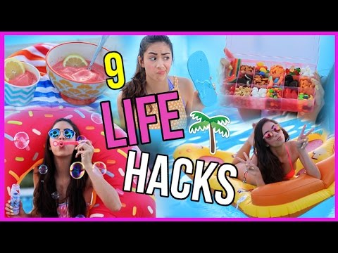 9 Summer Life Hacks YOU NEED TO TRY! from YouTube · Duration:  6 minutes 36 seconds