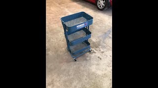ikea RASKOG trolley / Tool Cart