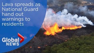 """Dangerous """"lava laze"""" continues to hang over Hawaii"""