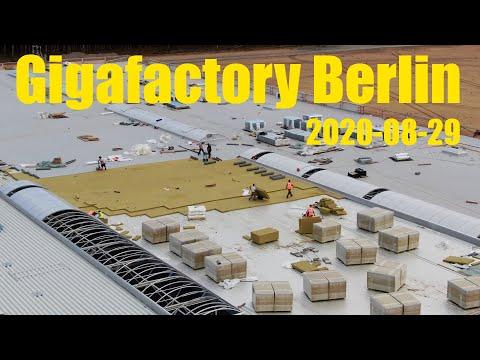 Giga Berlin | 2020-08-29 | Casting footings & roof insulation