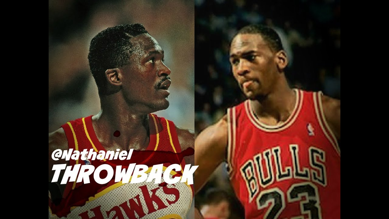 Michael Jordan vs Dominique Wilkins Full Highlights 11 10 1987