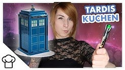 Doctor Who 3D Motivtorte // TARDIS // Kupferfuchs KüchenChaos