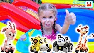 Врумиз все серии подряд на русском ► Мультик про Машинки  Бассейн с сюрпризами Pool Vrumiz toys