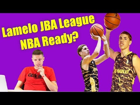 Professor reacts to Melo Ball JBA League... Ready for NBA?