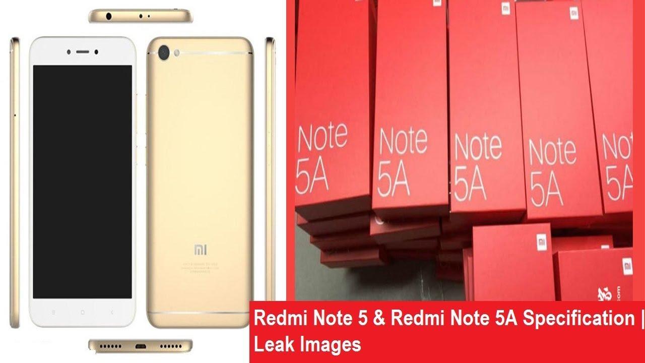 Xiaomi Redmi Note 5 5a Specspricefeatures Nokia 3gb 16gb Ram Hitam Exclusive Leak Images