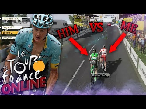 Le Tour De France 2019 Online Game Mode - IT'S HERE!!! (TDF English Multiplayer Ps4)