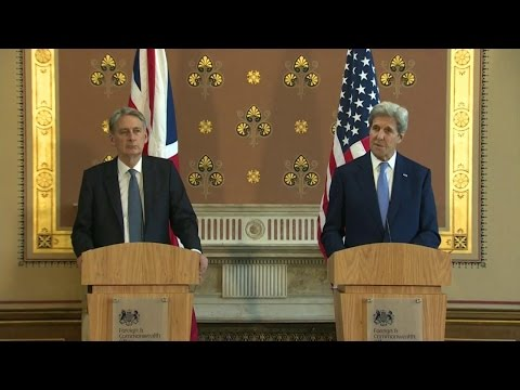 Remarks by Secretary Kerry and British Foreign Secretary Hammond