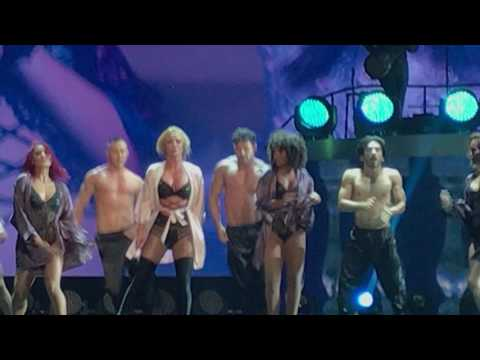 Slumber party part1 Britney Spears Live in Bangkok 24-06-2017
