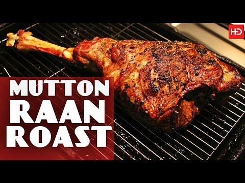 Mutton Raan Roast By Chef Food | Masala Mutton Leg Roast / Eid Special (English Subtitles)