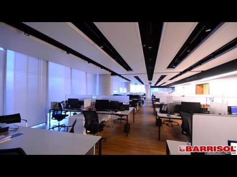 LINEARsystem - sufity akustyczne Barrisol