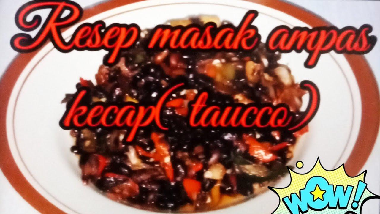 #Dirumah aja# Resep masak ampas kecap simple enak