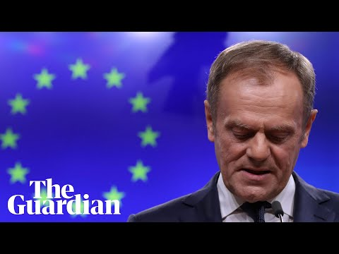 'Special place in hell': Donald Tusk derides Brexiters without a plan