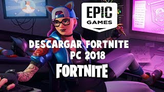 how to download FORTNITE BATTLE ROYALE PC 2018 Windows 7, 8 and 10 in Spanish