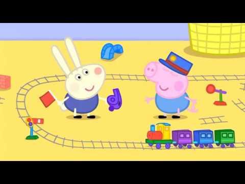 Prasátko Peppa S03e08 Králíček Ríša Richard Rabbit Comes To Play Cz 4k Ultra Hd
