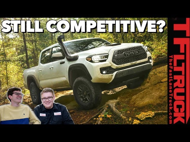 2020 Toyota Tacoma is Here: Different Enough To Stay Ahead Of The Competition? | No, Youre Wrong #4