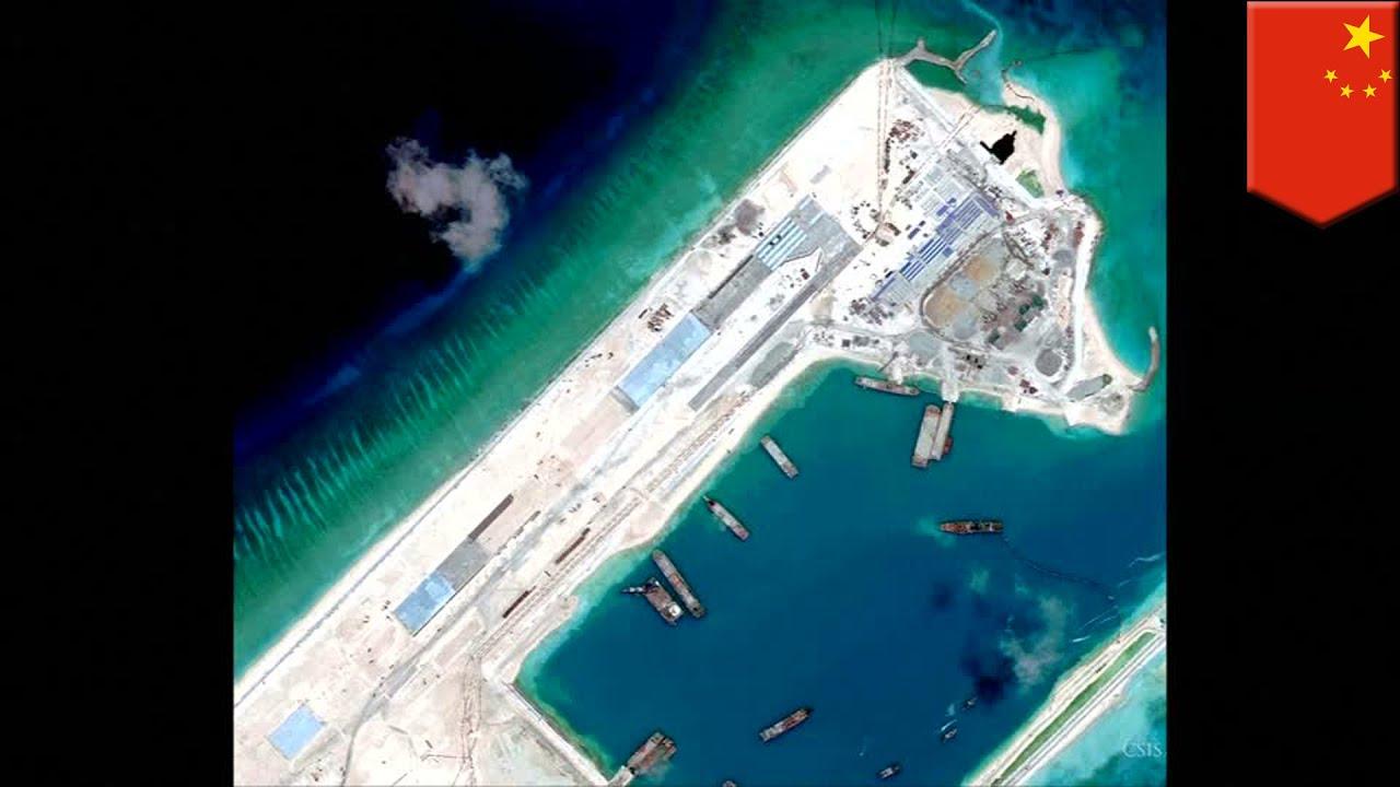 South China Sea disputes: China is building a massive ...