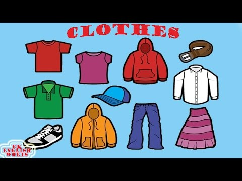 Clothes | Learn English | Uk English Words | Lesson 6 ...
