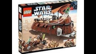 lego star wars 6210 jabba s sail barge review