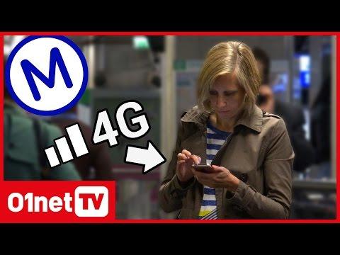 Comment nous avons établi la carte de la 4G dans le métro parisien