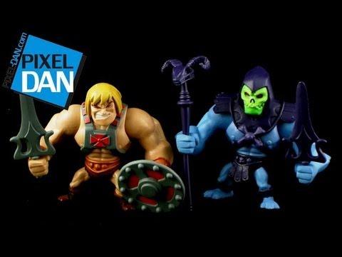 2013 SDCC Exclusive Masters of the Universe Classics Mini He-Man Skeletor Figure