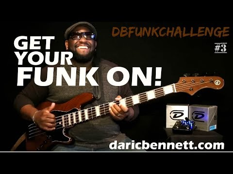 Download Youtube: FUNKY BASS JAM! | Daric Bennett | How funky can you get in under 60 sec? ~ DBFUNKCHALLENGE