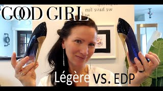 CAROLINA HERRERA GOOD GIRL LEGERE VS ORIGINAL Comparison Perfume Fragrance Review | Parfum Enivrant