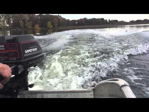 Game Fisher 5hp Outboard Motor